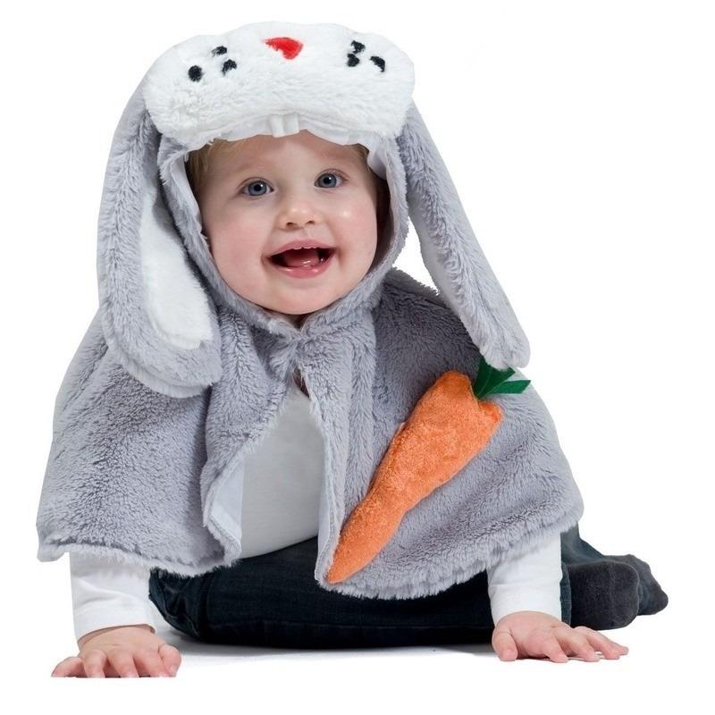Baby-peuter paashaas verkleedpakje