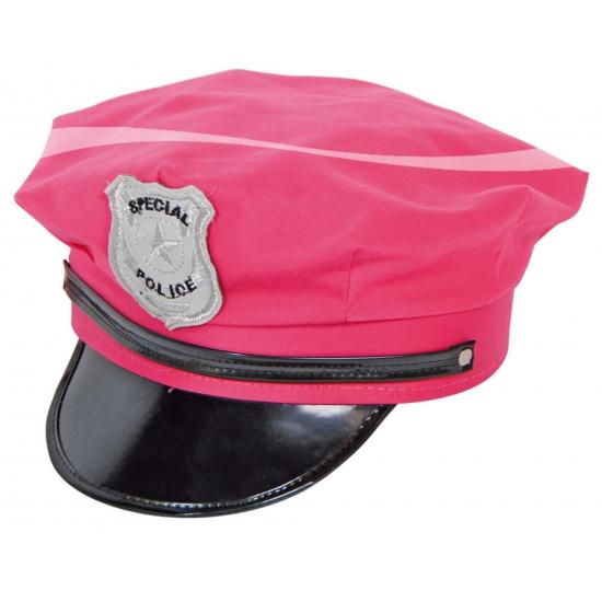 Fel roze politie petten