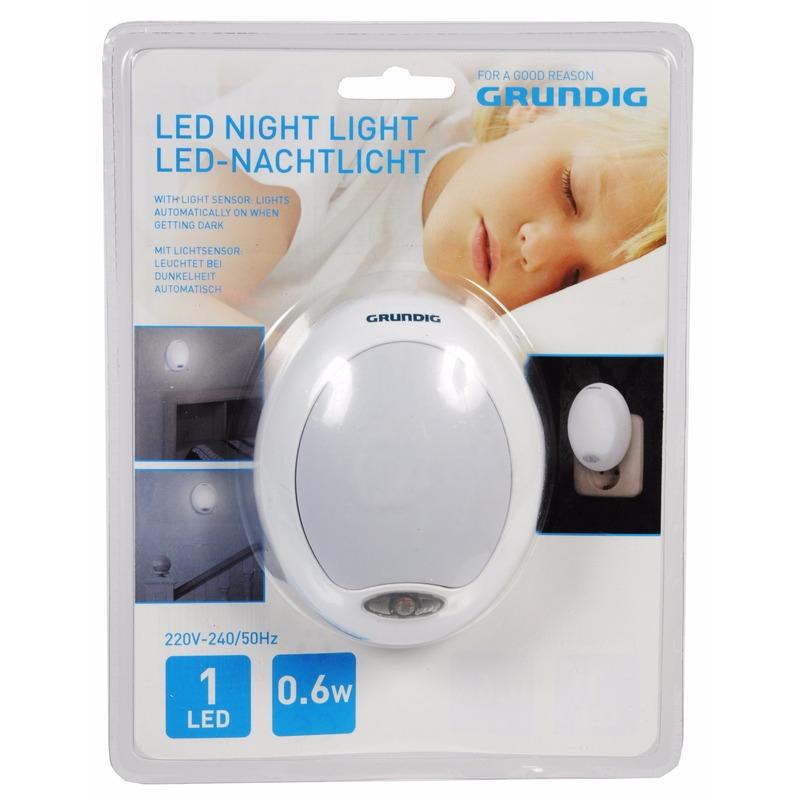 Grundig nachtlampje LED met sensor