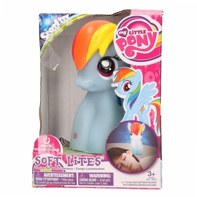 Kinderkamer nachtlamp My Little Pony Rainbow Dash 15 cm