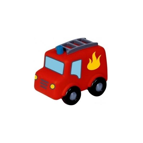 LED nachtlampjes brandweerauto voor kinderen