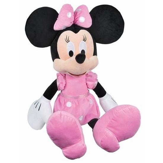 Mega pluche Minnie Mouse Disney knuffels 80 cm