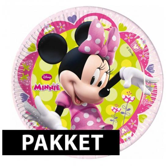 Minnie Mouse versiering pakket voor kinderfeestje