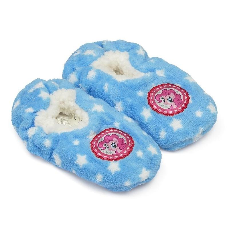 My Little Pony slofjes blauw anti-slip voor kinderen