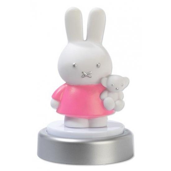 Nachtlampje Nijntje 16 cm roze