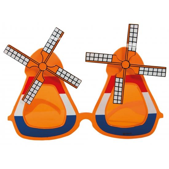 Oranje molen zonnebril