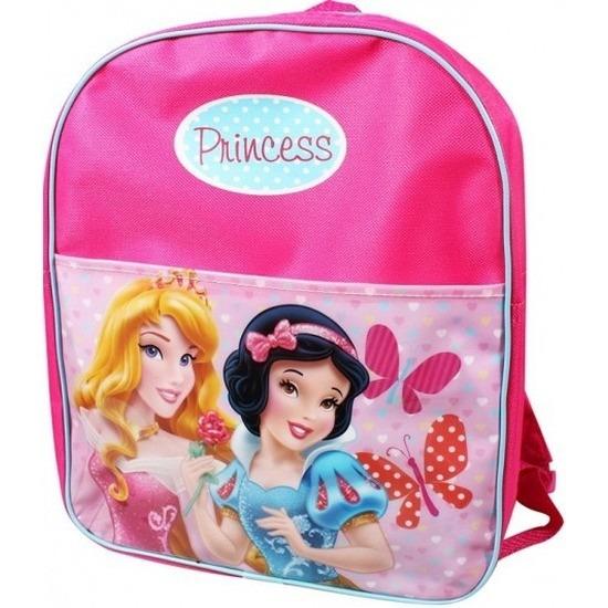 Roze Disney prinsessen school rugzak voor meisjes-kinderen