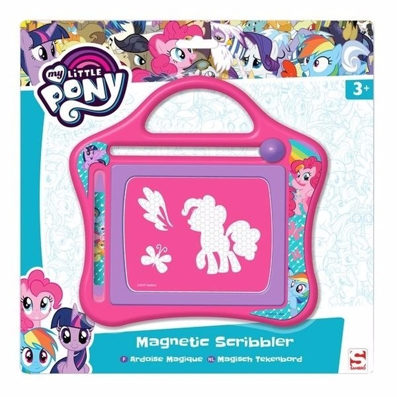 Roze My Little Pony magisch tekenbord