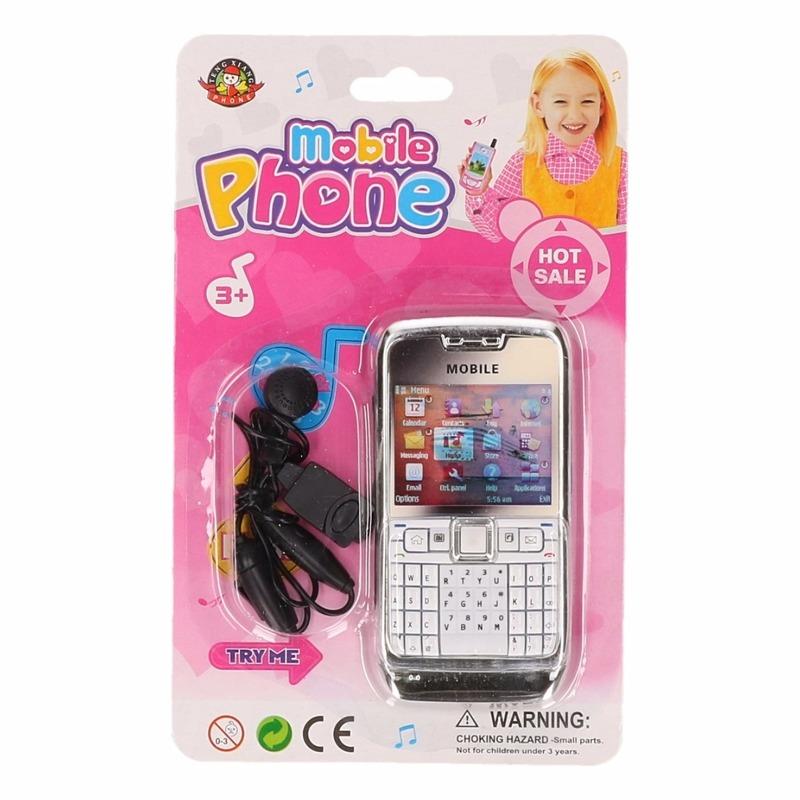 Roze speelgoed mobiel voor kinderen