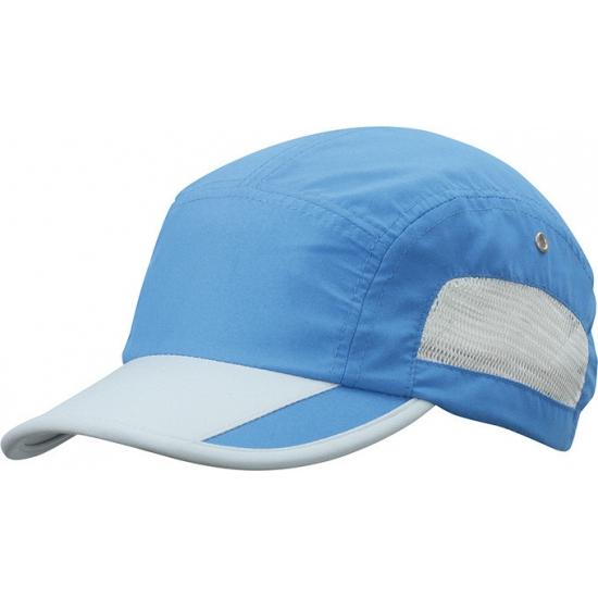 Kobalt blauwe sport pet water afstotend kopen? /hoeden-en-caps/baseball-caps/caps-contrast-kleur met voordeel vind je hier