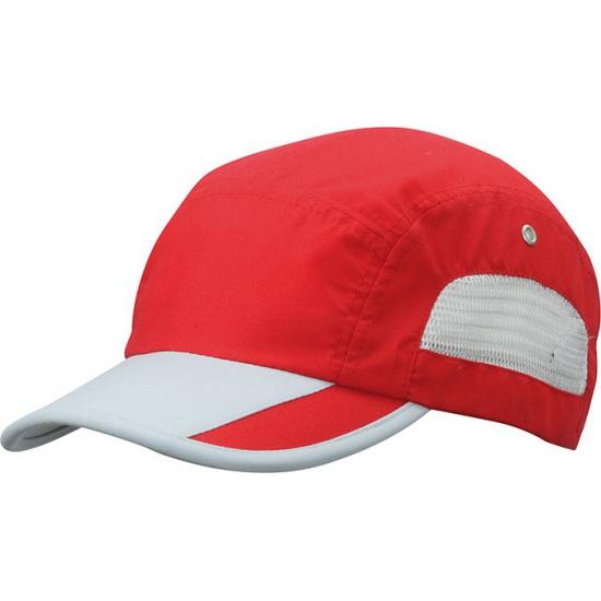 Rode sport pet water afstotend kopen? /hoeden-en-caps/baseball-caps/caps-contrast-kleur met voordeel vind je hier