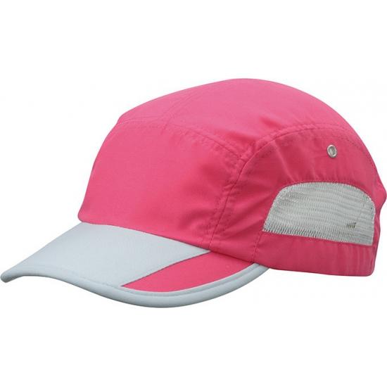 Roze sport pet water afstotend kopen? /hoeden-en-caps/baseball-caps/caps-contrast-kleur met voordeel vind je hier