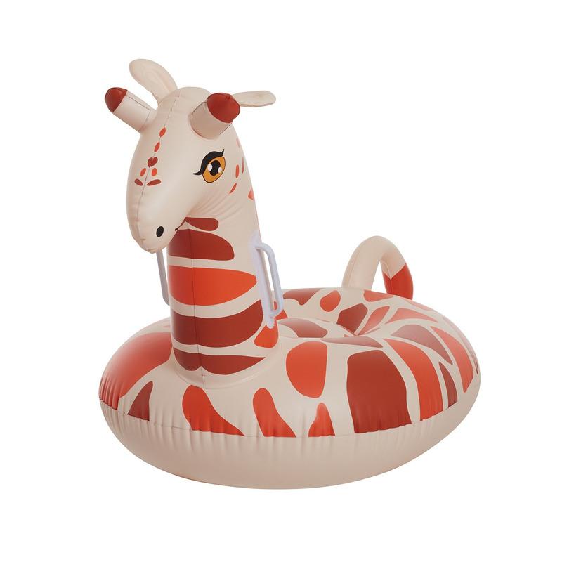 Opblaas giraffe voor kinderen 93 cm