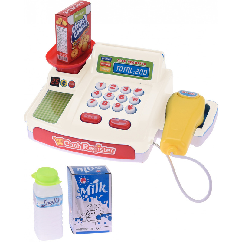 Speelgoed kassa met geluid voor jongens-meisjes